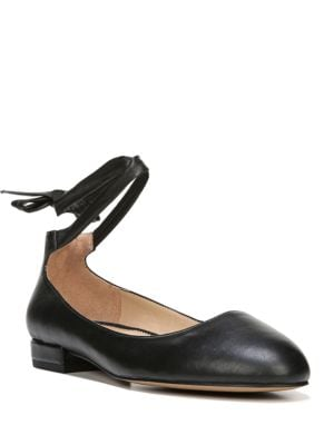 Becca Leather Tie-Up Flats by Franco Sarto
