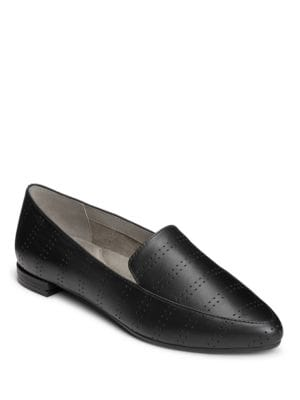 Girlfriend Leather Loafers by Aerosoles