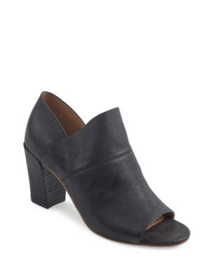 McKenna Leather Ankle Boots by Me Too