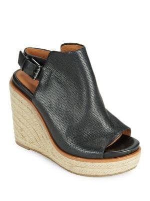 Jacey Peep-Toe Wedge Sandals by Gentle Souls