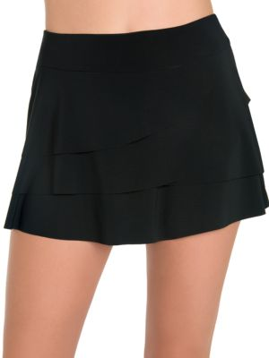 Layered Ruffled Skirt by Miraclesuit