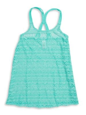Girls Crochet Cover-Up...