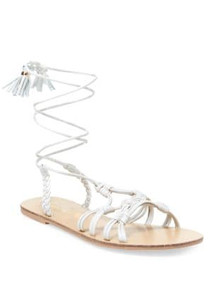 June Knotted Flat Sandals by Nanette By Nanette Lepore