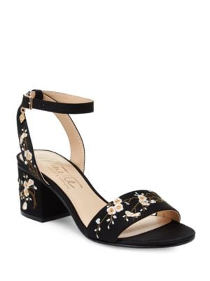 Ruby Embroidered Sandals by Nanette By Nanette Lepore