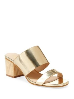 Remi Double Strap Slip-On Sandals by Nanette By Nanette Lepore