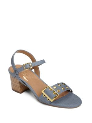 Midtown Faux Leather Ankle-Strap Sandals by Aerosoles