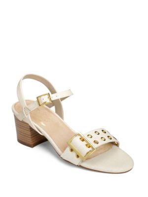 Midtown Woven Textured Ankle-Strap Sandals by Aerosoles