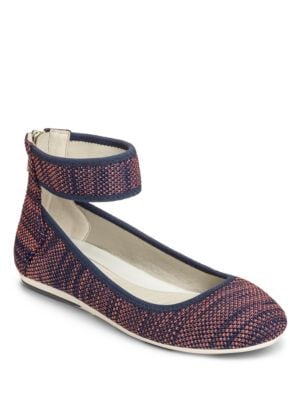Spin Class Ankle-Strap Ballet Flats by Aerosoles