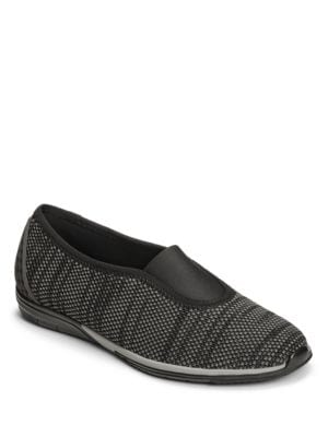 Textured Slip-On Flats by Aerosoles