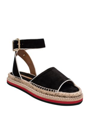 Estrella Open-Toe Ankle-Strap Sandals by Andre Assous