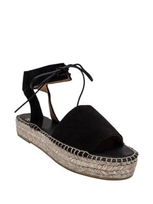 Sabina Open-Toe Flatform Espadrilles by Andre Assous