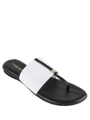 Cannes Elastic Thong Sandals by Andre Assous