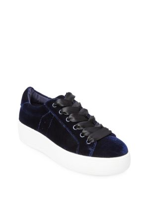 Bertie-V Round-Toe Sneakers by Steve Madden