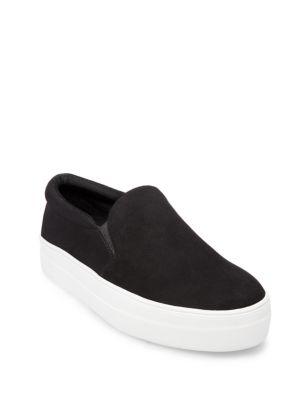 Buy Gills Suede Slip-On Sneakers by Steve Madden online