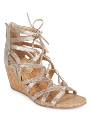 Cake Pop Caged Wedge Sandals by Kenneth Cole REACTION