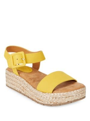 Calmwater Espadrille Platform Wedge Sandals by Kenneth Cole REACTION