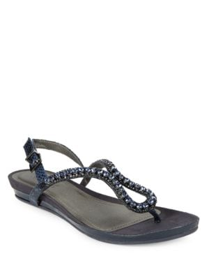 Lost Star Embellished Wedge Sandals by Kenneth Cole REACTION