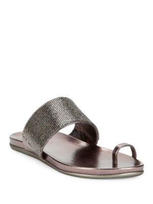 Slim Tricks2 Embellished Toe Ring Sandals by Kenneth Cole REACTION
