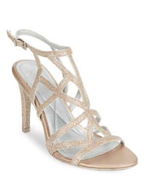 Glittered Caged Dress Sandals by Kenneth Cole REACTION