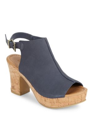 Tole Tally Block-Heel Sandals by Kenneth Cole REACTION