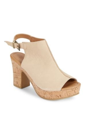 Tole Tally Nubuck Platform Sandals by Kenneth Cole REACTION