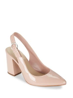Lisa Patent Slingback Pumps by 424 Fifth