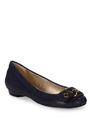 Mady Buckle Flats by Anne Klein