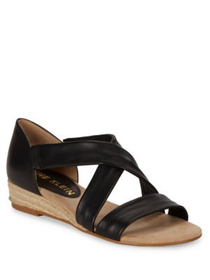 Nicco Wedge Sandals by Anne Klein