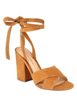 Kuriel Suede Block Heel Sandals by Ivanka Trump
