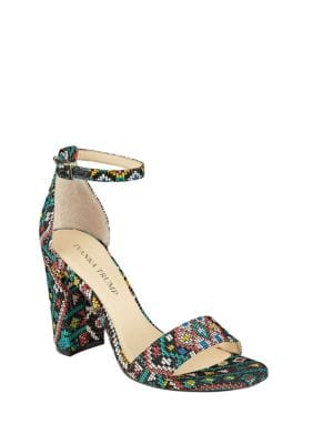 Klover Block Heel Sandals by Ivanka Trump