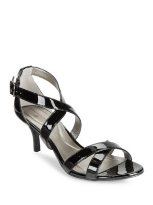 Nakayla Patent Strappy Heels by Bandolino