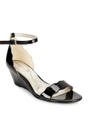 Opali Patent Wedge Sandals by Bandolino