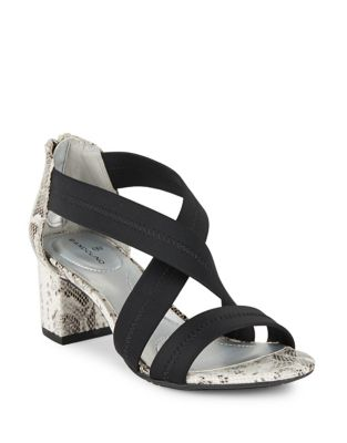 Sholto Cross-Strap Sandals by Bandolino