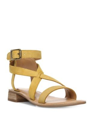 Alora Strappy Leather Sandals by Franco Sarto