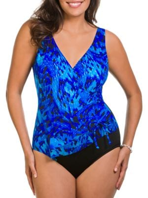 Deep End One-Piece Swimsuit by Longitude