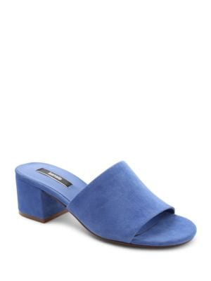 Helina Self-Covered Suede Sandals by Kensie