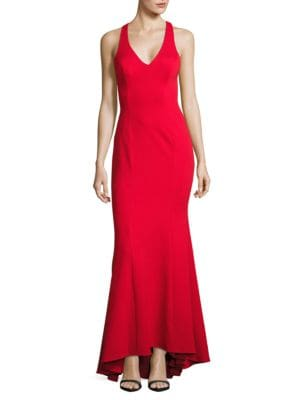 Halter Mermaid Gown by Xscape