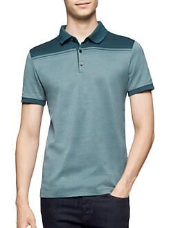 Calvin Klein - Contrast Cotton Polo
