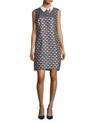 Queen Bee Jacquard Shift Dress by Trina Turk