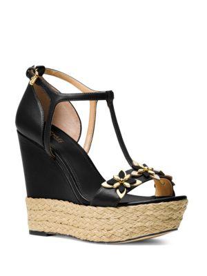 Heidi Wedge Platform Sandals by MICHAEL MICHAEL KORS