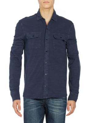 Pocketed Sportshirt by Lucky Brand