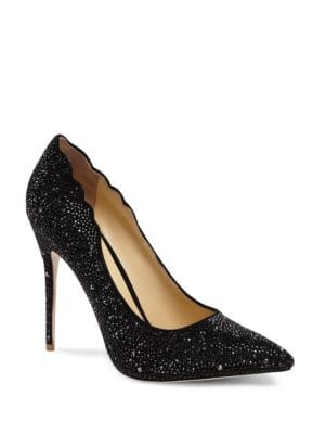Jasmine Crystal Stiletto Pumps by Jl By Judith Leiber