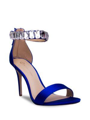 Mackenzie Ankle-Strap Stilettos by Jl By Judith Leiber