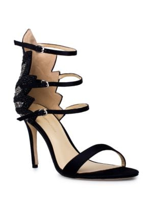Marry Silk Sandals by Jl By Judith Leiber