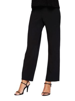 Plus Slim-Leg Dress Pants by Alex Evenings