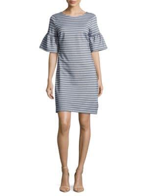 Striped Shift Dress by BB Dakota