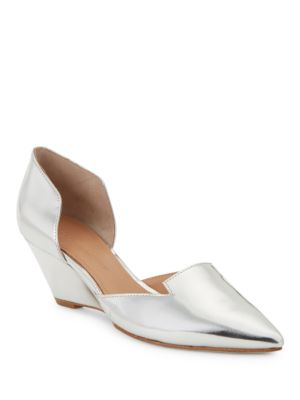 Wenda Leather D Orsay Wedges by Sigerson Morrison