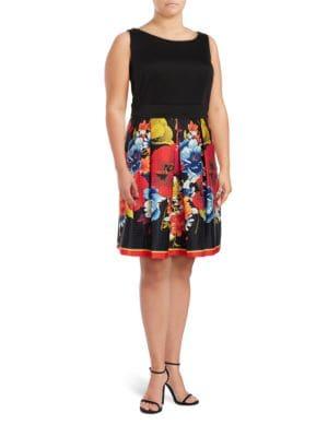 Boatneck Sleeveless Dress by Gabby Skye