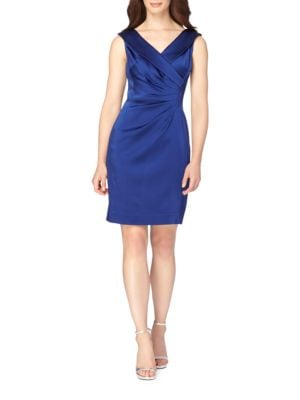 Portrait Collar Sheath Dress by Tahari Arthur S. Levine