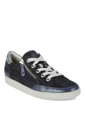 Luca Sport Zip Accented Lace Up Sneakers by Paul Green